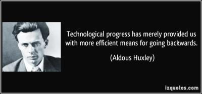 Tech progress quote
